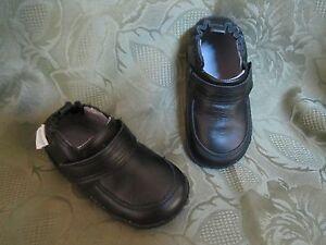 ROBEEZ Infant Baby Boy Boys Shoes Mini Shoez Robby Black
