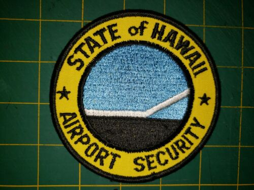 STATE OF HAWAII SHERIFF POLICE PATCH AIRPORT SECURITY HI