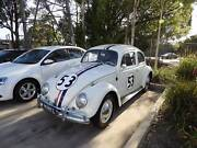 1964 Volkswagen bug looks exact like herbie too many extras Homebush West Strathfield Area Preview