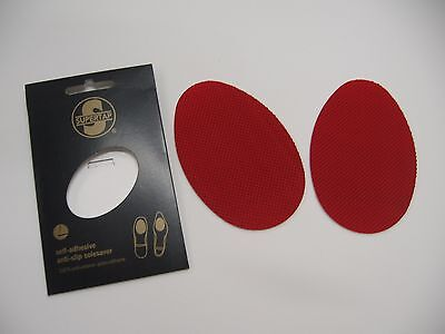Red Shoe Sole Protector Ladies High Heel Louboutin DIY -Peel & Stick  - USA- NEW