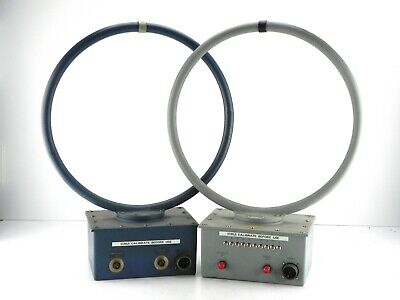 Electro-metrics Alr 25 Alr 35 Magnetic Field Hoop Antenna Emc Testing 1 Pair