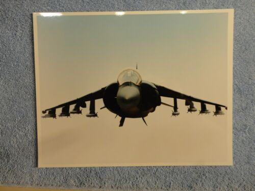 Vintage 8X10 McDonnell Douglas Aircraft Photo 1986 US Military Loaded