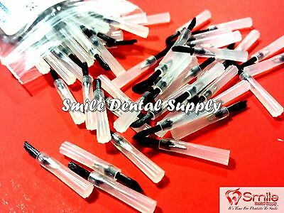 Pulpdent Brush Tips 24mm Length 100bag Tip Dental Br