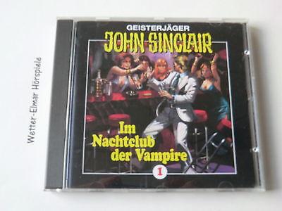 John Sinclair - CD - Folge 1 - Im Nachtclub der Vampire gebraucht kaufen  Bovenden
