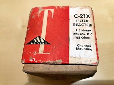 Triad Filter Choke Tube Audio 21x