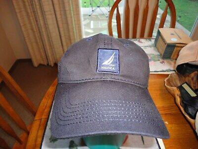 NAUTICA Sailing hat cap NS83 osfa strapback buckle pre owned