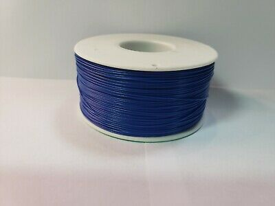 30 Awg Gauge Stranded Wire Blue 25 Ft 0.0100 Ptfe 600 Volts Usa Soldship