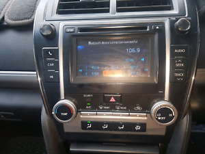 Toyota Camry  reverse camera touch screen audio