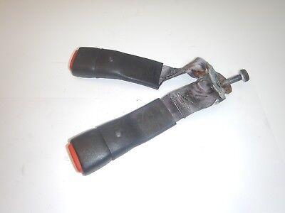 Rear Seat Belt - Jeep Wrangler TJ 97-06    Rear Female Seat Belt  Dark Gray Buckle FREE SHIPPING