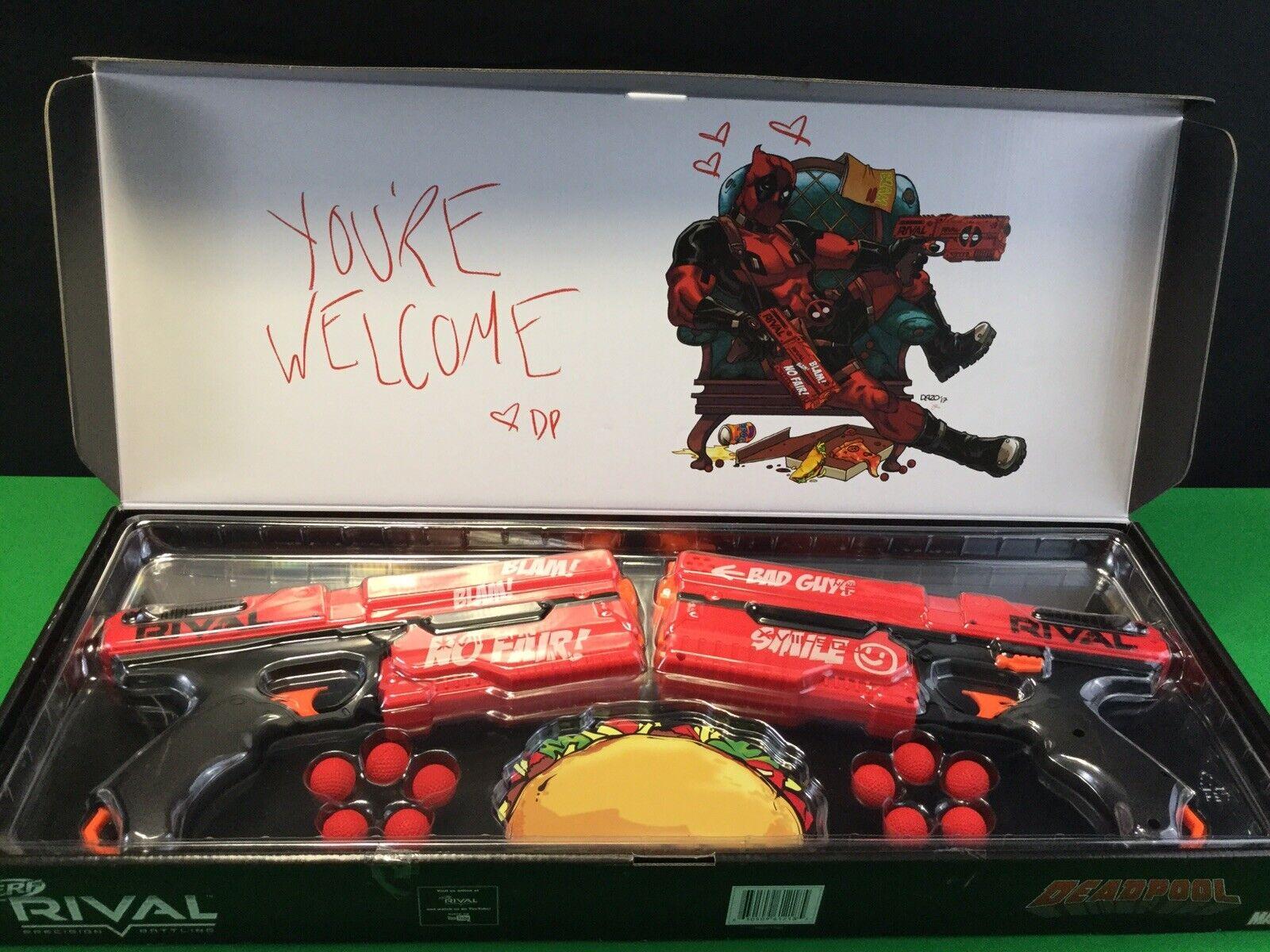 Nerf Rival Deadpool Kronos XVIII-500 Blasters