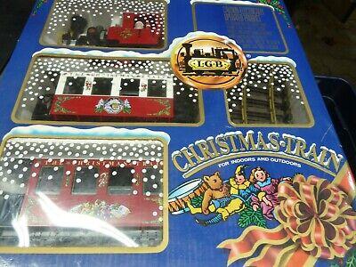 LGB CHRISTMAS TRAIN SET #20540 IN BOX
