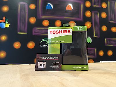 Toshiba Canvio Basics Disque dur externe 2.5'' portable 1 To USB 3.0 / 2.0 NEUF