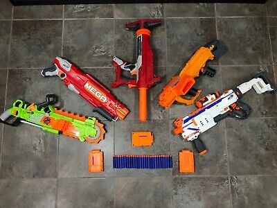 5 Nerf Blasters Brainsaw Double-Dealer Double-Breach Modulus Regulator Titan AS