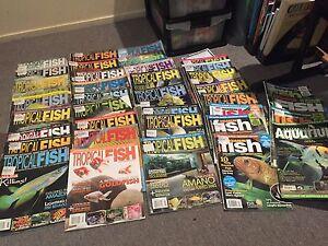 Assorted Aquarium Magazines Cranbrook Townsville City Preview