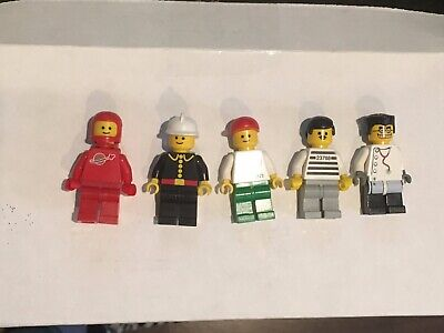 LEGO Collectible Vintage Mini-figures Vol. 1 #852331 Rare 2008 100% complete