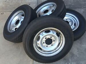 Nissan navara rims and tires Fulham Gardens Charles Sturt Area Preview