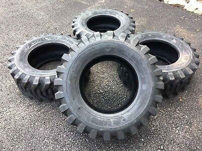 4 New 12-16.5 Skid Steer Tires Camso Sks332 12x16.5 - For Bobcat Others
