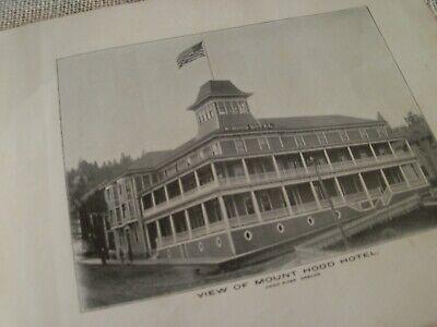 "1906 Brochure of Hood River Oregon & It's Renowned Fruit Valley 7 1/2"" x 9"""