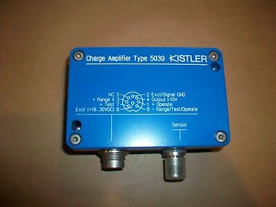Kistler Charge Amplifier 5039a221q03
