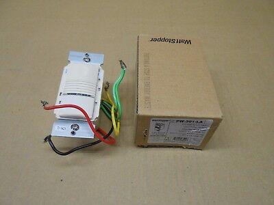 1 Nib Watt Stopper Pw-301-la Pw301la Pir Wall Switch Sensor 120277vac 5060hz
