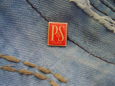 Pin Pins P+S Players King Size Filter Cigarettes Zigaretten Players Spezial Logo