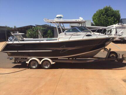 "Boat. 7.4m Hard Top Aluminium ""Leeuwin Pro"" - built by Southbound"
