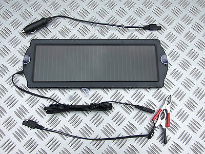 1.5W SOLAR PANEL 12 VOLT BATTERY SAVER TRICKLE CHARGER BOAT CARAVAN CLASSIC CAR
