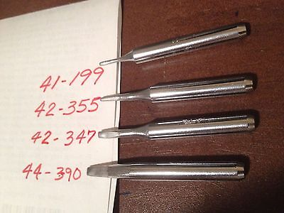 Plato 41-199 42-347 42-355 And 44-390 Soldering Iron Tips. Brand New