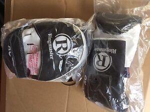 Boxing gloves and pads training sett new Ringmaster Grange Charles Sturt Area Preview