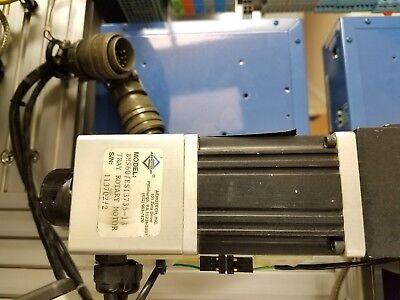 Aerotech Bms60 Es13735 Precision Knob Series Dc Brushless Torque Servo Motors