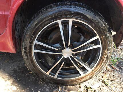 VW Golf Mk1 mag alloy wheels 15