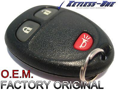 07-14 GMC SIERRA KEYLESS ENTRY REMOTE KEY FOB GM/X: 25836192 OEM M3N5WY8109