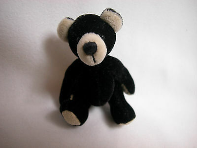 "World Of Miniature Bears Dollhouse Miniature 2.5"" Plush Bear #5074"