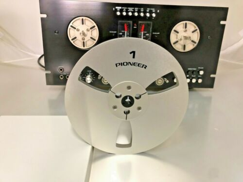 "NEW Pioneer Reel 7"" LIGHT METAL REEL 1/4"" Tape Anodized Aluminum Made in USA"