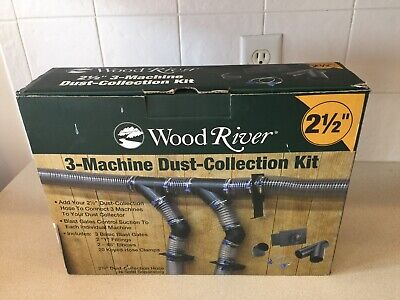 Woodriver Multi-machine Dust Collection Fitting Kit 2-12 X 3 See Details