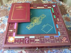 FRANKLIN MINT MONOPOLY - 1991 COLLECTOR'S ED. VGC  FATHER'S DAY Port Macquarie Port Macquarie City Preview