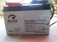100AHr AGM Battery Gretna Central Highlands Preview