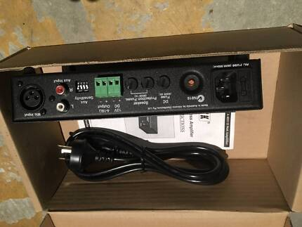 Redback PA Amp.