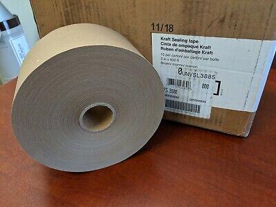 9 Rolls Of Gummed Kraft Sealing Tape