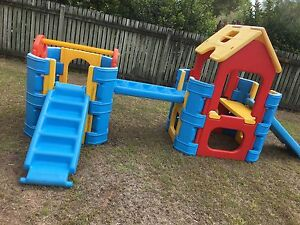 Double Play Gym with 3 slides Bald Hills Brisbane North East Preview