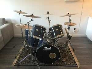 6 Piece Pearl Drumset