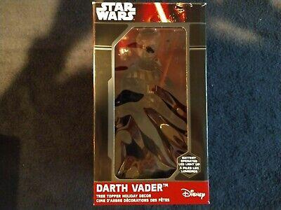 Star Wars Darth Vader Light Up Christmas Tree Topper Decoration