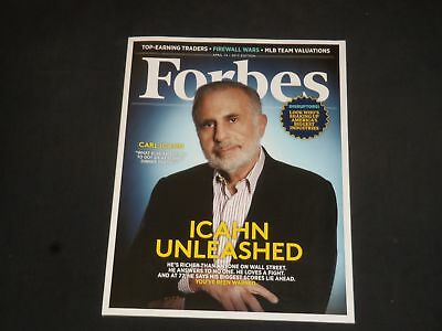 2013 April 15 Forbes Magazine   Carl Icahn Cover   Sp 7324