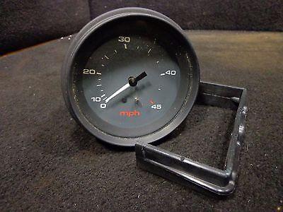 "3.25"" hole Grey Face Speedometer Gauge 940320 Generic 0- 45 mph Gauges #39"