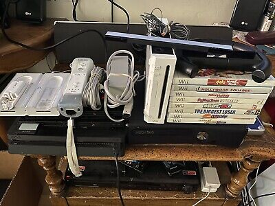 Nintendo Wii White bundle