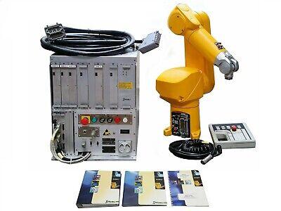 Staubli Adept Rx60-l Robotic 6-axis Armcs7 Mb Rx60l Controllerpendantmanuals