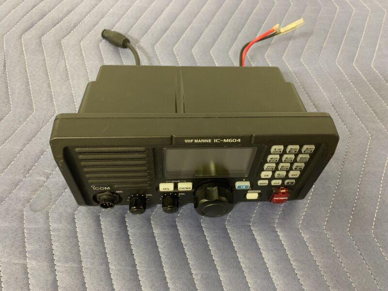 Icom VHF Marine IC-M604 Waterproof Submersible Radio