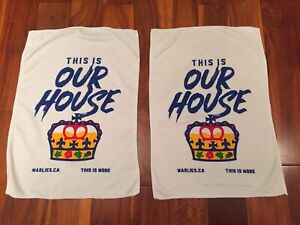 Toronto Marlies This Is Our House Game Towel