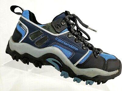 5fe598dcf Cannondale Women s Mountain Road Bike Shoes Black Blue Lace Size US 8 EU  38.5