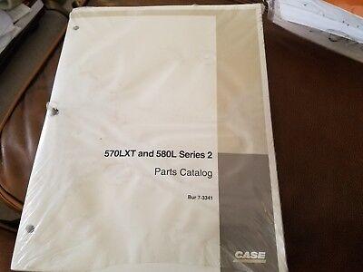 Case 570lxt And 580l Series 2 Parts Catalog Bur 7-3341